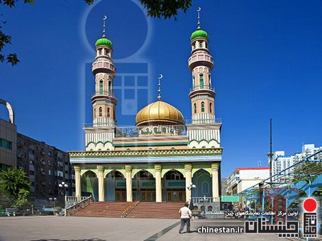 Mosque in Urumqi.....1