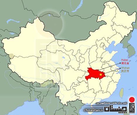 map wuhan