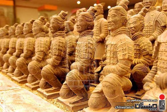 Miniature-terracotta-warriors-Xi'an-China