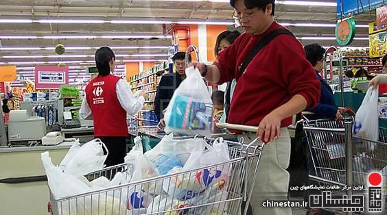 Control the use of plastic bags in China